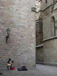 バルセロナのギタリスト