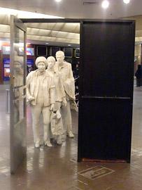ジョージ・シーガルの彫刻