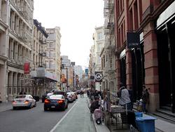 マーサーストリート周辺