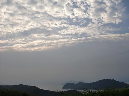 瀬戸内海の朝